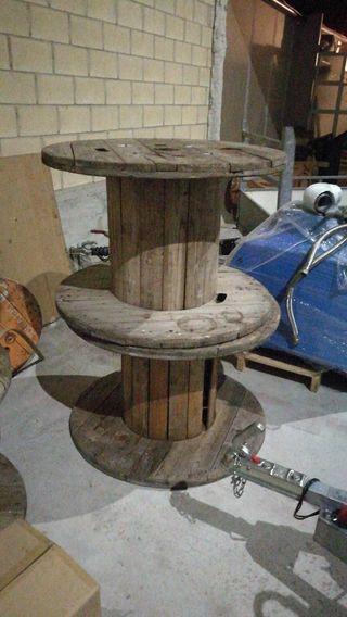 Carretes de madera
