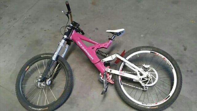 bici dh/freeride descenso bicicleta