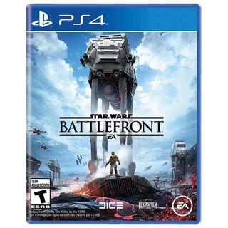 Videojuego Star Wars Batlefront PS4