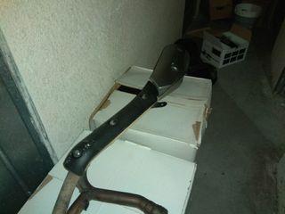 tubo de escape suzuki vstrom