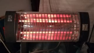 estufa eléctrica de barras
