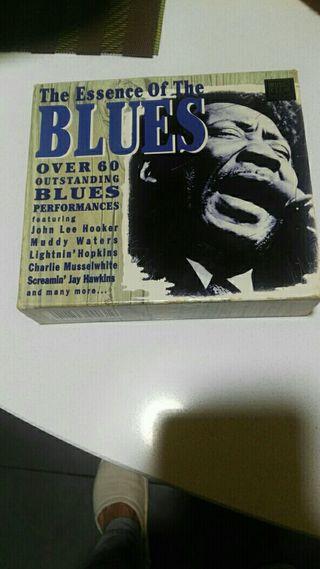 caja de 3 cds de blues