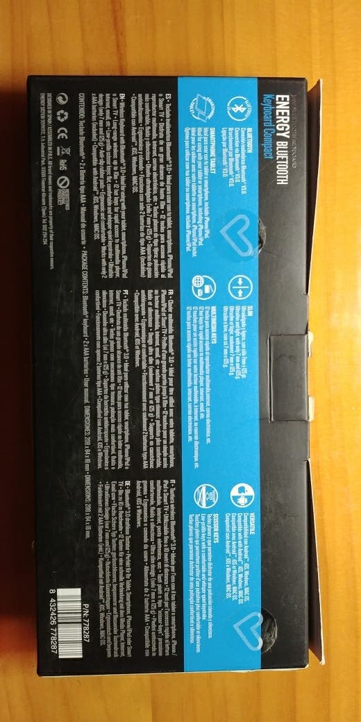 Teclado Energy Sistem Bluetooth