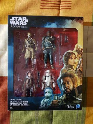 Figuras Star Wars Rogue One La Rebelion De Jedha.