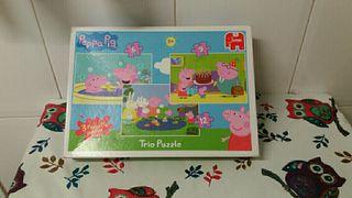 Trio Puzzle de Peppa Pig