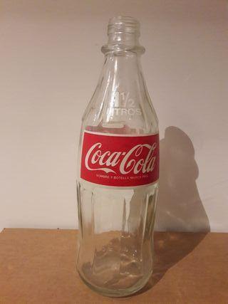 botella coca cola 1,5L española