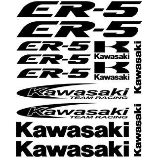 kit pegatinas Kawasaki er-5, color a elegir