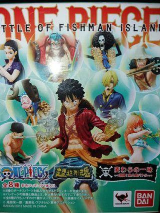 Figuras One Piece Saga Isla Hombres Pez