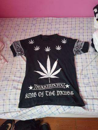 Camiseta de marihuana