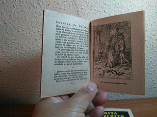 2 libritos cuentos de calleja