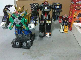 3 zords power rangers