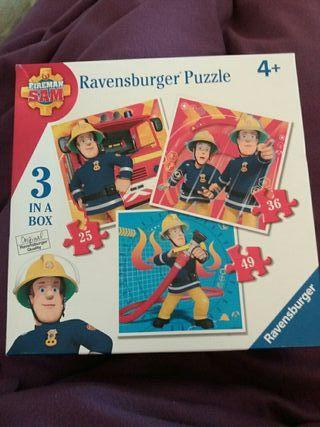 Puzzle SAM EL BOMBERO +4 años