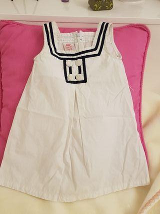 Vestido marinero verano niña
