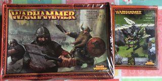 Miniaturas enanos Warhammer