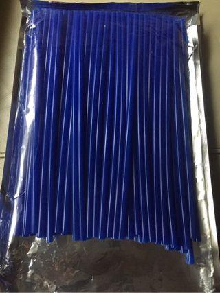 Cubreradios en azul