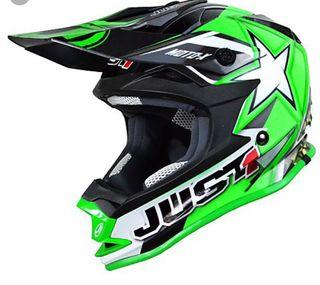 Casco motocross just1 MotoX