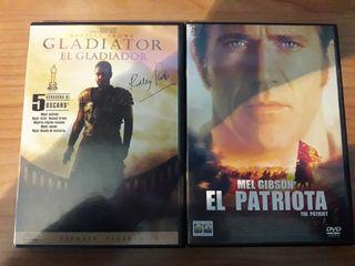 Pack Gladiator y El Patriota