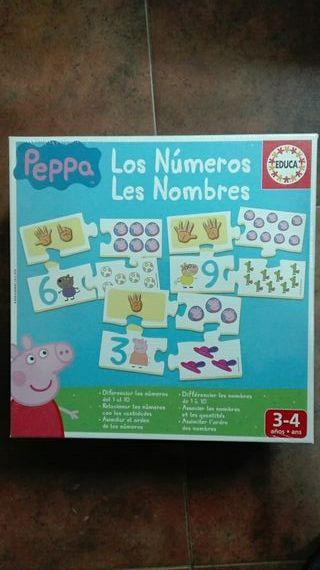 JUEGOS EDUCATIVOS NUEVOS!! puzzle de Peppa Pig