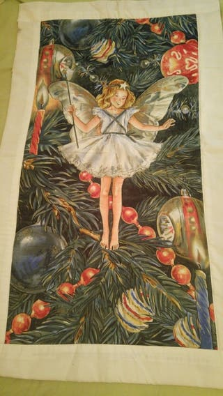 colcha cuna o tapiz Hada Cicely Mary Baker