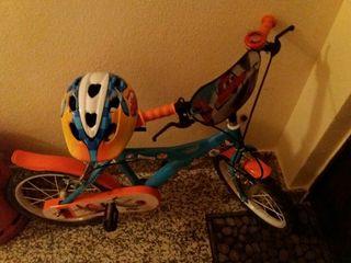 Bicicleta Dusty Aviones Disney