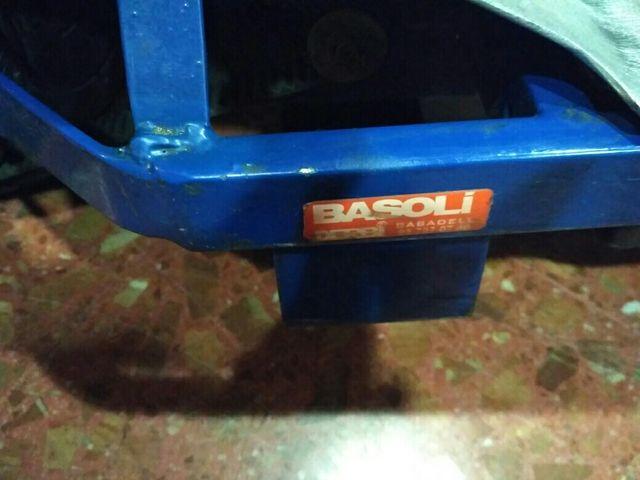 Patinete electrico vintage mod Basoli Derbi