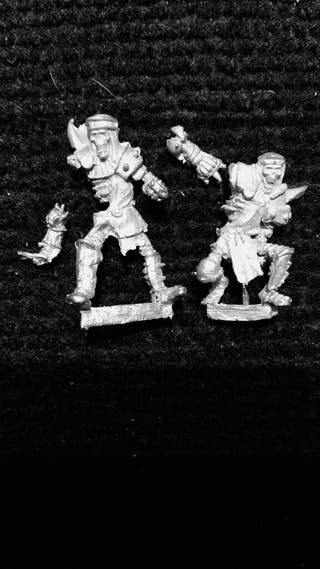 Blood Bowl Khemri Esqueletos Linea metal x2