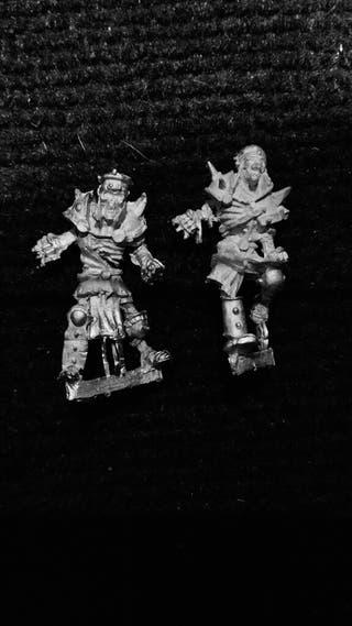 Blood Bowl Esqueletos Linea metal x2