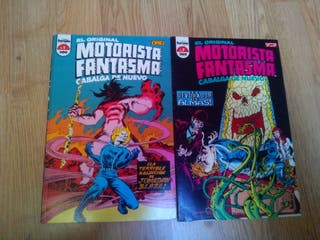 Cómic Motorista fantasma