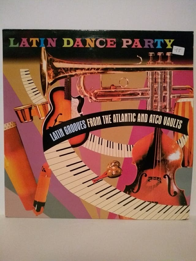 disco vinilo Latin Dance Party