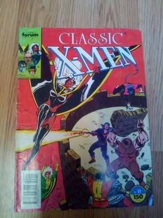 Cómic Clasic X-men 11
