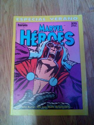 Cómic Marvel Heroes especial Verano