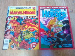 Cómic Especiales Marvel Heroes