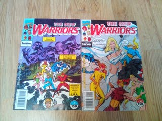 Cómic new warriors
