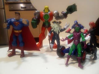 Pack de superheroes