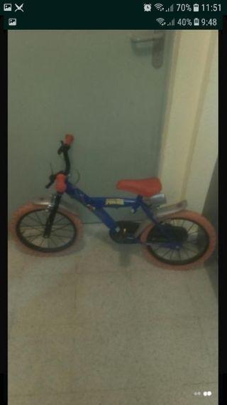 bicicleta con frenos para zurdo