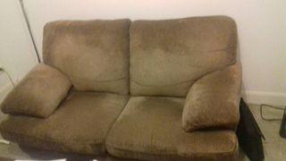 regalo sofa 2 plazas por mudanza. urgente