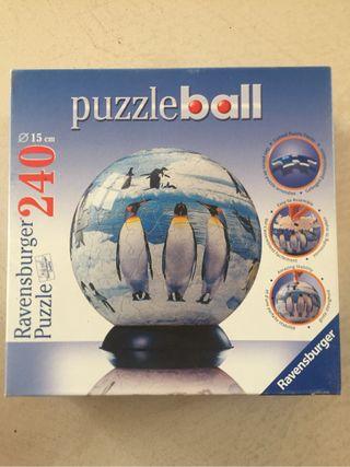 Puzzle 3D pingüinos