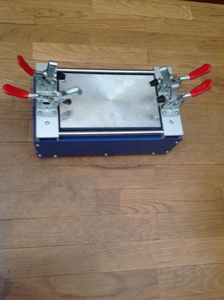 Plancha separadora + microsoldadora
