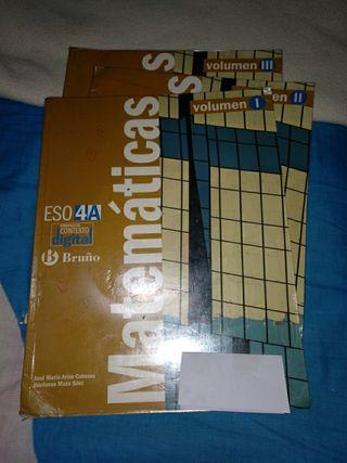 Libros Matemáticas 4A