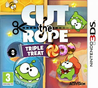 Cut The Rope 3DS Nintendo