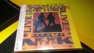 Bruce springsteen live in new york edición japones