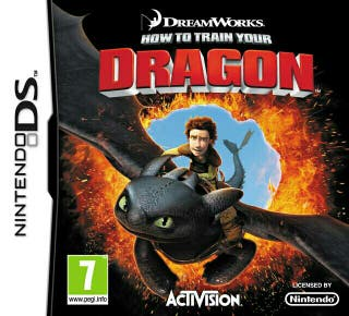 Como Entrenar a tu Dragon Nintendo DS