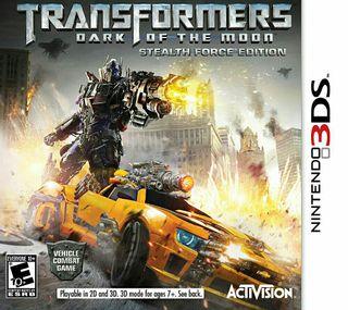 Transformers 3DS Nintendo