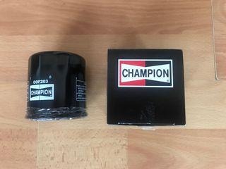Filtro aceite champion