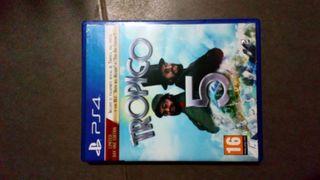 vendo videojuego tropico 5 ps4