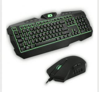 Teclado +Raton Gaming