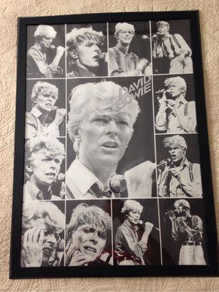 Póster David Bowie