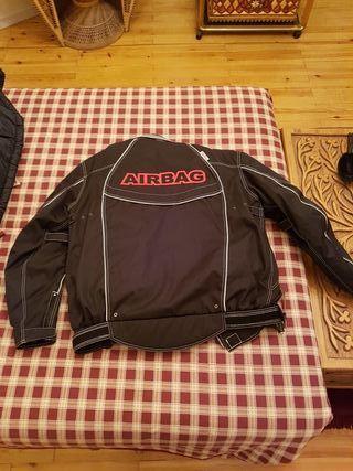 Cazadora de moto con Airbag