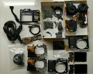 Canon Powershot G10 piezas