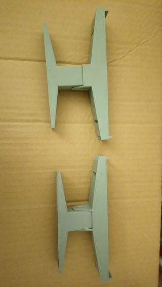 2 soporte puente Scalextric